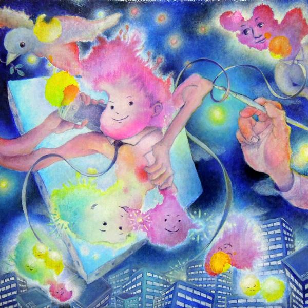 [ 通話記録 ] acrylics on canvas 2012