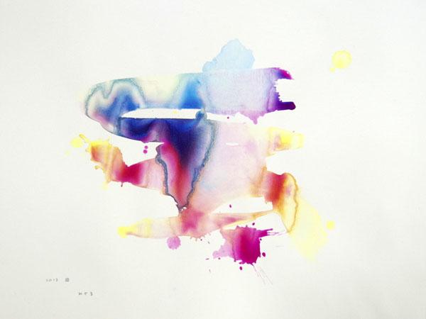 [ みざる ] acrylics on paper 400 x 300 mm 2013